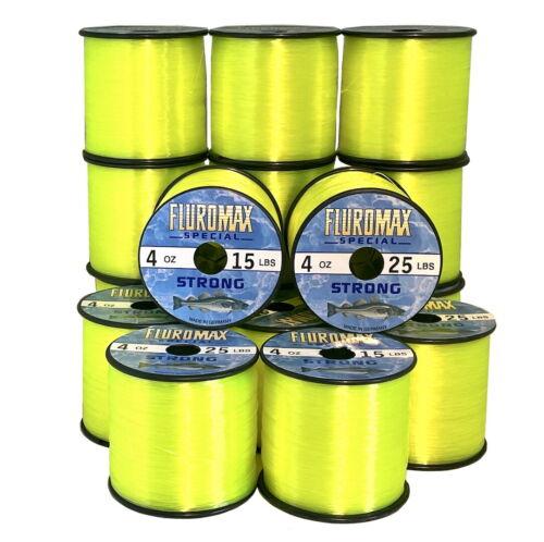 Sea Fishing Line Bulk Spool 15lb 18lb 20lb 25lb 30lb 35lb 40lb 50lb 60lb Yellow