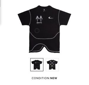 Vlone x Nike x Complexcon Long Sleeve Black Tee New Size M