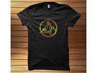 Average White Band *AWB Logo Funk R/&B Soul Band Mens Black T-Shirt Size S to 3XL