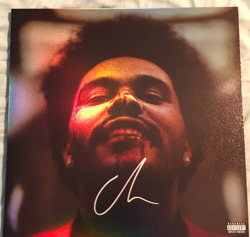 The Weeknd After Hours LP Vinyl  Signed Autographed HOLO Abel Markkanen