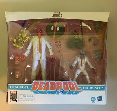 MARVEL LEGENDS DEADPOOL AND HIT MONKEY! 6-Inch Action Figures - Exclusive Sealed