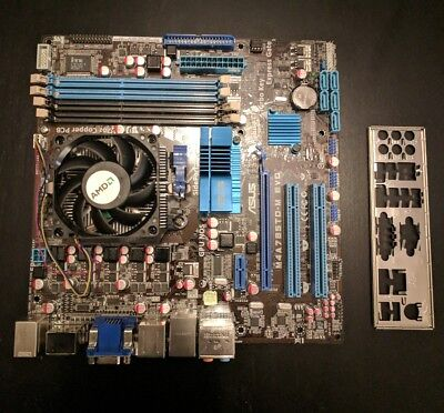 ASUS M4A785TD-M EVO M4A785-M Motherboard Combo w/AMD Athlon II X4 630 2.8GHz CPU