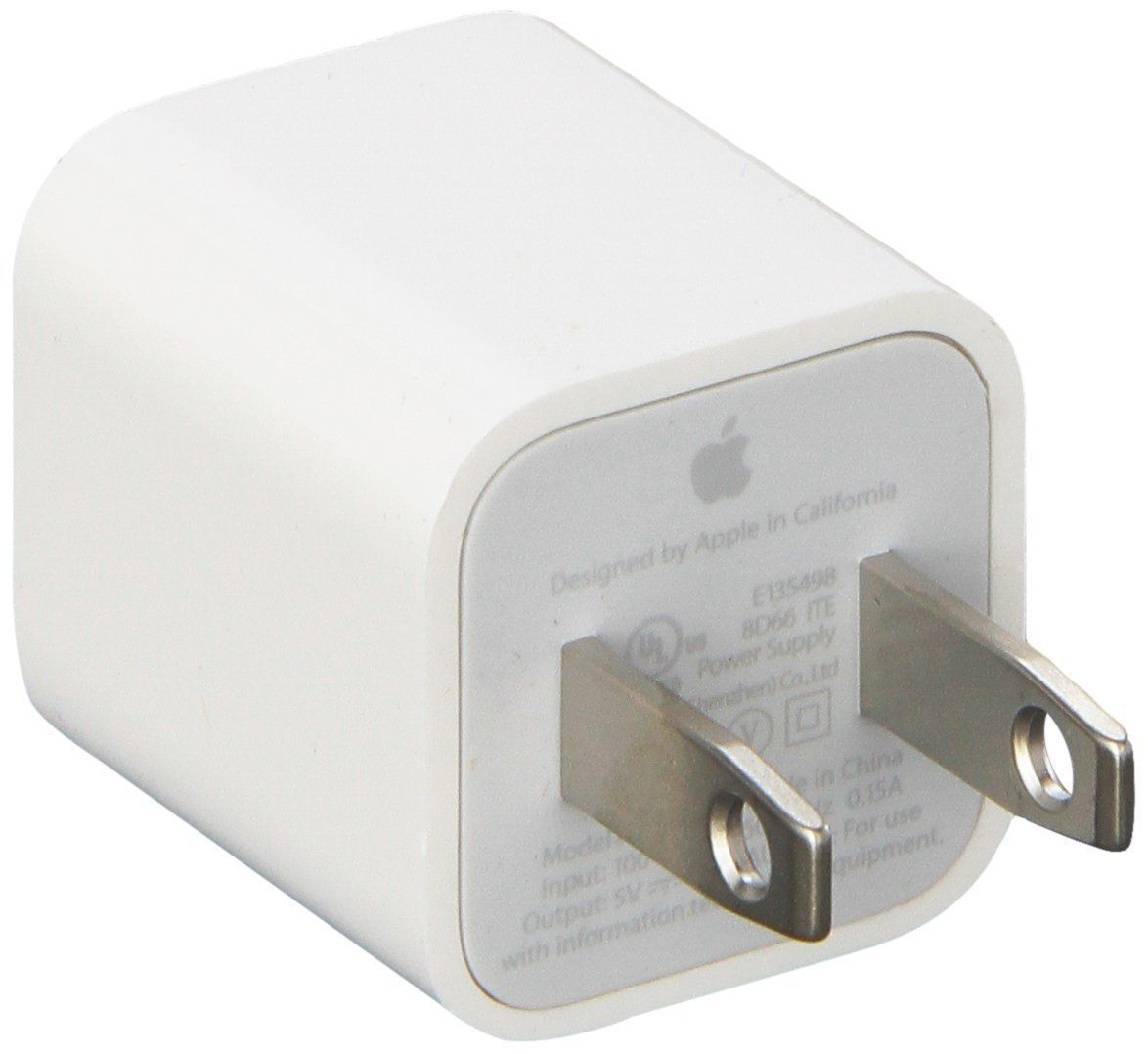 New 2 PCS USB Wall Charger Adapter Cube A1385 for Apple