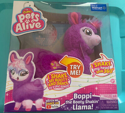 Pets Alive Boppi The Booty Shakin Llama Battery-Powered Dancing Robotic Toy