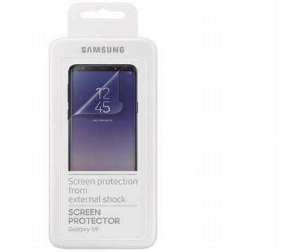 Original Samsung Galaxy S9 G960F 2 Stück Displayschutzfolie ET-FG960