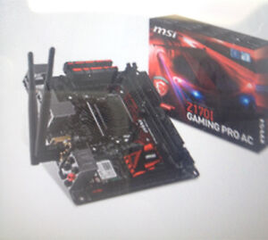 Msi z170I Gaming Pro mini itx motherboard East Maitland Maitland Area Preview