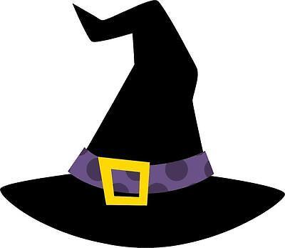 aufkleber sticker halloween gruselig auto motorrad deko macbook hut hexe kind - Halloween Hexe Kind