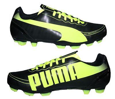 PUMA EVOSPEED 5.2 FG Herren / Jungen Fußballschuhe Nocken Fußball Schuhe schwarz (Jungen Puma Fußballschuh)