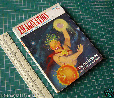 1953 Vintage Imagination Science Fiction. McCauley Cover Art. Bertram Chandler