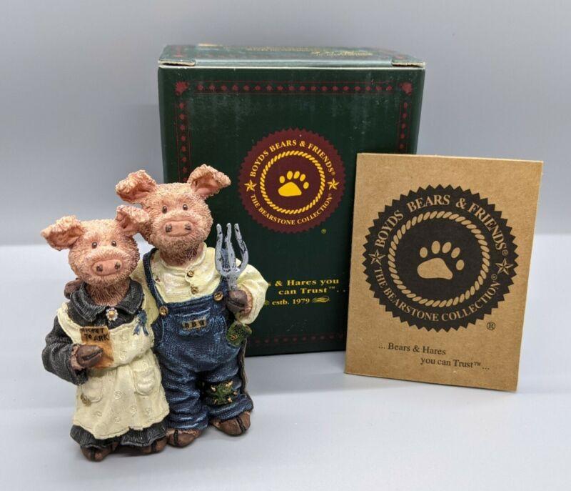 "Boyds Bears ""Charlotte Wilbur Hamstein Blue Ribbon Special"" 2440 Noah"