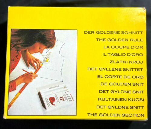 Lutterloh System The Goden Rule Sewing Pattern  Making Kit W. Germany 1993 VTG.