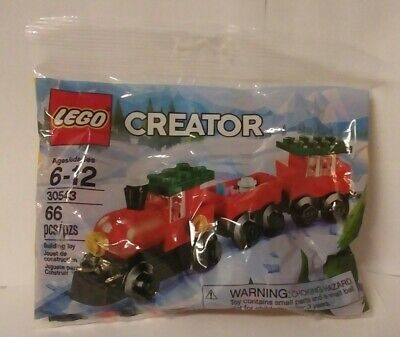 LEGO #30543 Creator Holiday Train Building Toy 66 Pieces Christmas New