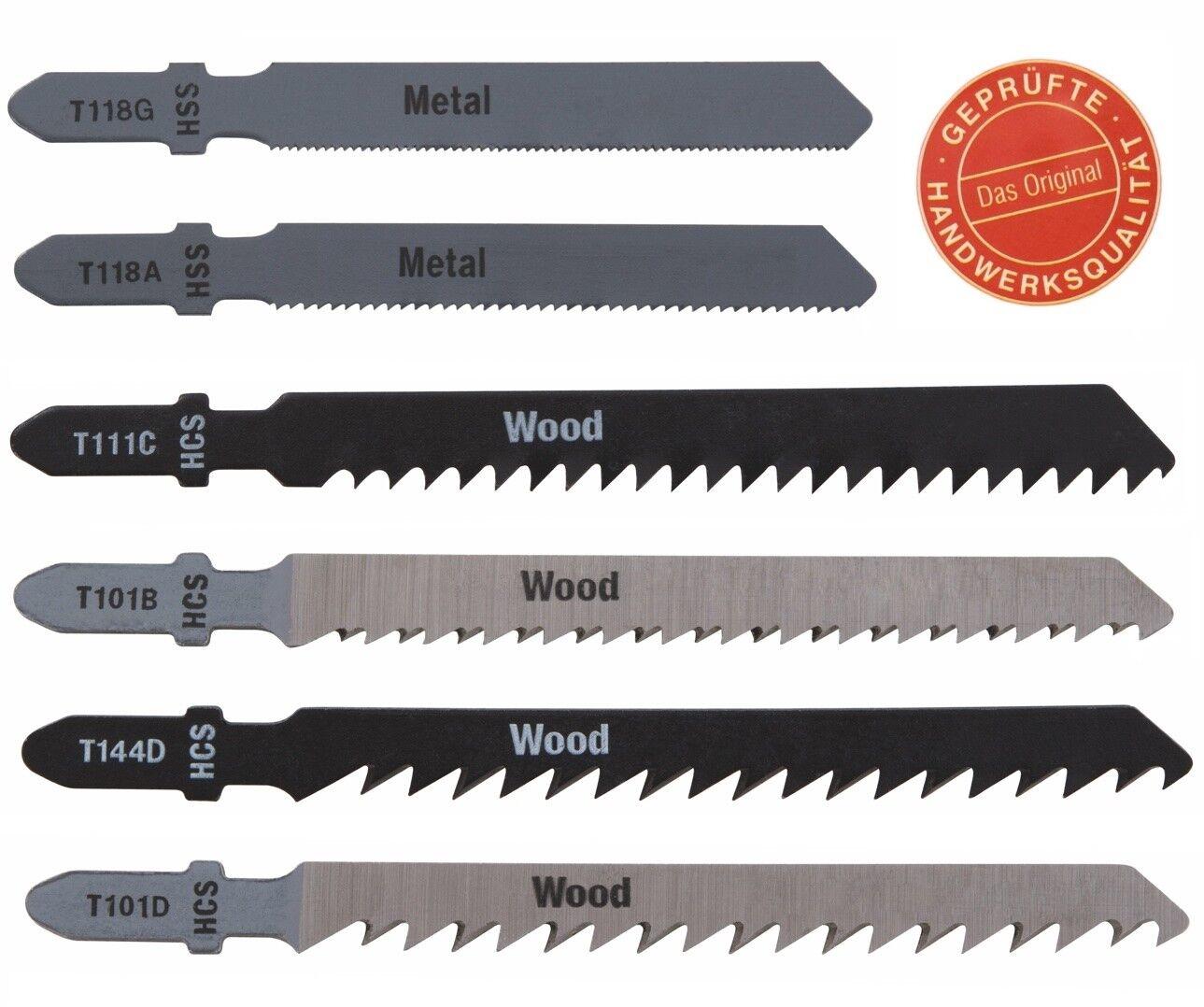 Stichsägeblatt Stichsägeblätter Holz Alu Kunststoff Metall Bosch T-Schaft