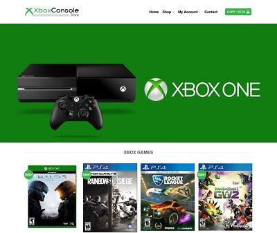 Xbox Website Business For Sale - Earn 441 A Sale. Free Domainfree Web Hosting