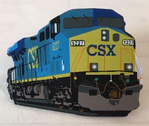 Railroad Hat-Lapel Pin/Tac- CSX Locomotive (CSX) #1742-NEW
