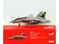 """Neu VF-33 /""""Starfighters/"""" Herpa 558891-1//200 Grumman F-14A Tomcat"""