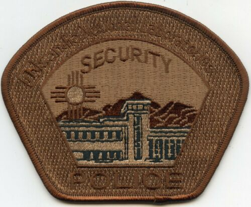 SANDIA NATIONAL LABS NEW MEXICO NM Brown DOE SECURITY POLICE PATCH