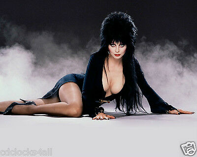 Elvira / Cassandra Peterson 8 x 10 / 8x10 GLOSSY Photo Picture IMAGE #2