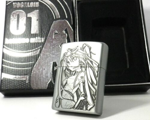 HATSUNE MIKU Amusement Arcade Prize Oil Lighter MIB Rare            sku:16020258