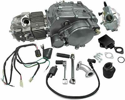 LIFAN 150CC Motor Engine CDI CARBURETOR W/ WIRES CARBY SHIFT LEVER CRF50 70 BIKE