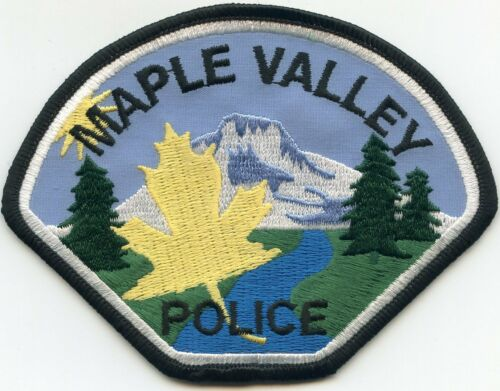 MAPLE VALLEY WASHINGTON WA POLICE PATCH