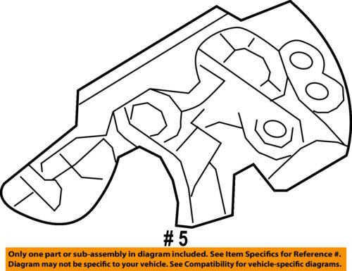 Ford Oem Manifold Exhaust Heat Shield Right 7t4z9a462b 743161394402