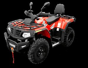 Crossfire x400 4 x4 AWD Fuel Injection, Quad bike, Farm Dirt ATV Prestons Liverpool Area Preview