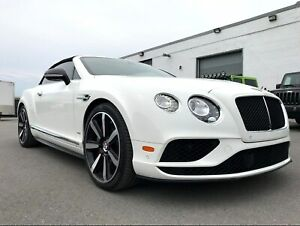 2017 Bentley Continental GT GTC V8S!! DIAMOND STITCH, NAVI, CAM!