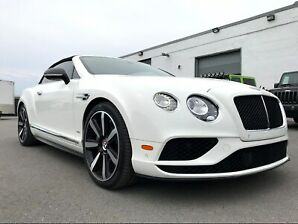 2017 Bentley Continental GT GTC V8S!! DIAMOND STITCH, NAVI, CAM!! *$1,555*