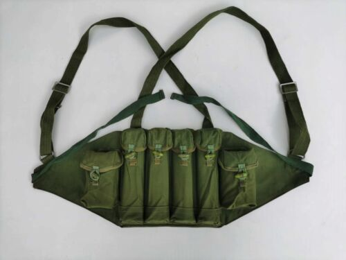 Chinese Military Army Type85 Chest Rig Ammo Pouches Packet