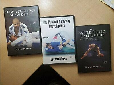 BJJ Dvd Lot, jiu jitsu instructional, mma, combat, wrestling, 12 discs ufc