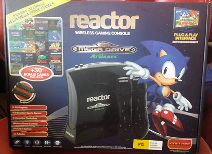 Sega Megadrive Reactor Wireless