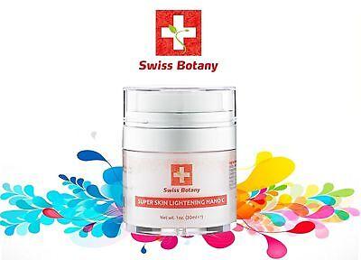 Swiss Botany Herbals Herbal White Glow Skin Whitening & Brightening GEL CREAM