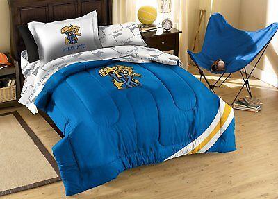 Wildcats Ncaa Bedding - NCAA Twin Bed Set, Kentucky Wildcats, 5 piece
