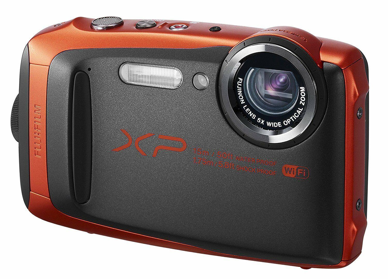 Fujifilm FinePix XP90 16.4MP 5x ORANGE Waterproof Camera [Certified Refurbished]