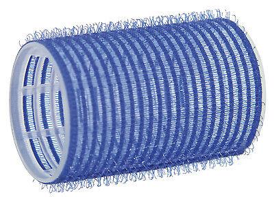 12 Haftwickler Klettwickler blau 40 mm selbsthaftend in Friseur Qualität