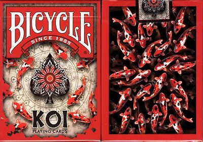 Koi Fish Bicycle Playing Cards Poker Size Deck USPCC Custom Limited Edition New