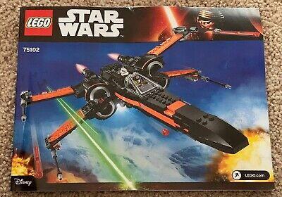 LEGO Star Wars 75102 Poe's X-Wing Fighter - 100% Complete!