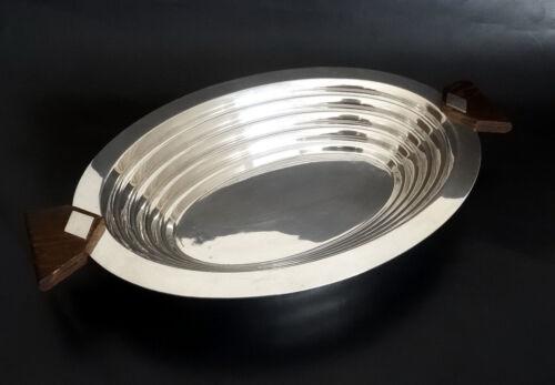 Christofle Luc Lanel 'Ondulations' 1930's Fruit/Bread Basket - Tableware