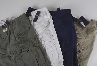 Cotton Ripstop Shorts - Polo Ralph Lauren Classic Fit Cotton Cargo Shorts NWT $79 - $89 Ripstop Utility
