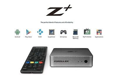 Formuler Z + / 4k HD IPTV / BOX ANDROID / Streaming TV Media Player