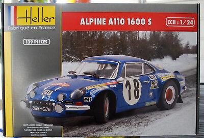 1:43 Trofeu 0817 Vinatier Alpine Renault A110 1300 Rallye Monte Carlo 1968