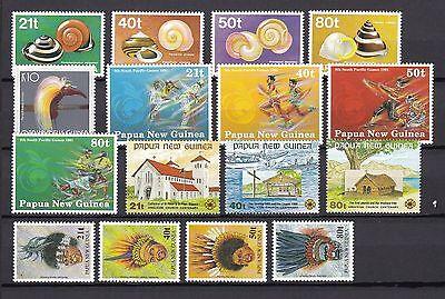 Papua New Guinea postfrisch Jahrgang 1991