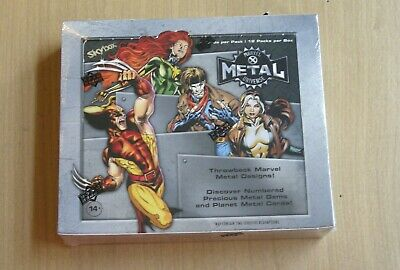 2021 Upper Deck UD Marvel Metal Universe X-Men sealed hobby box