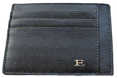 Portafoglio Porta Carte Di Credito Uomo Ermanno Scervino Nero Wallet Man Black S