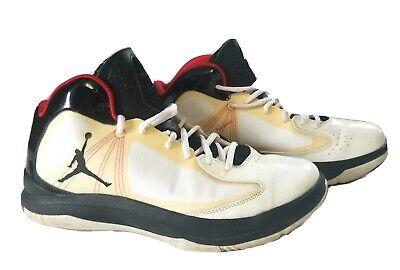 Nike Jordan Men's Aero Flight Flywire 524959-101 White Basketball shoes SZ 11.5