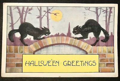 1921 Happy Halloween Post Card ()