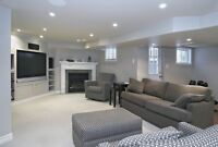 Professional Finished Basement from $22/sqft
