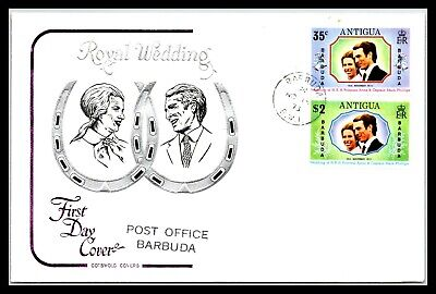 GP GOLDPATH: ANTIGUA & BARBUDA COVER 1973 FIRST DAY COVER _CV676_P06