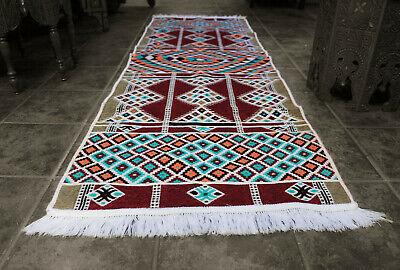Neu 65x 200 cm Orientalischer Läufer Teppich,Kelim ,Carpet,Rug,Damaskunst S 1323